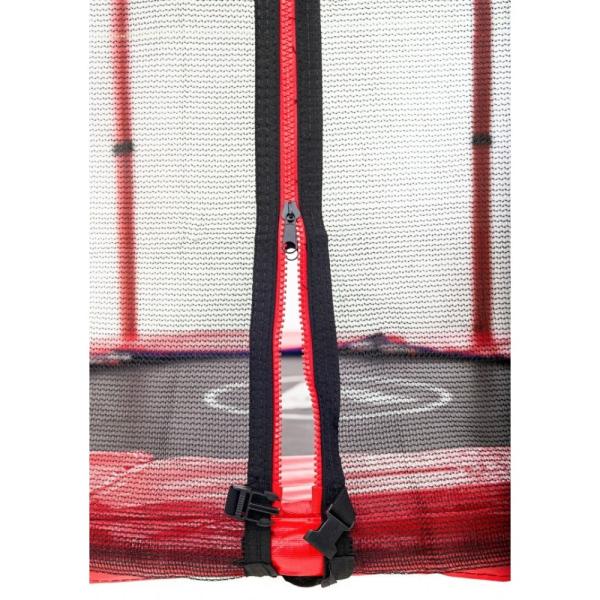 Батут Atleto 140 см с сеткой красный (21000401)