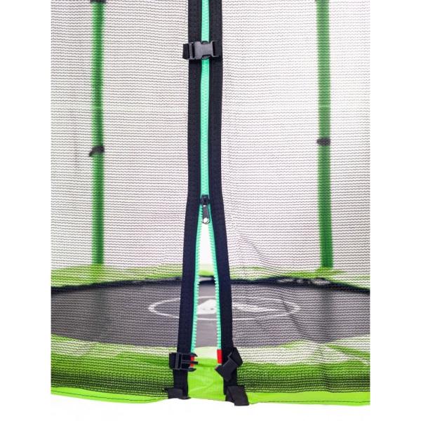Батут Atleto 140 см с сеткой зеленый (21000402)