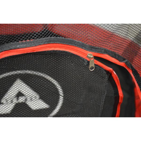 Батут Atleto 140 см с сеткой красный New (21000404)