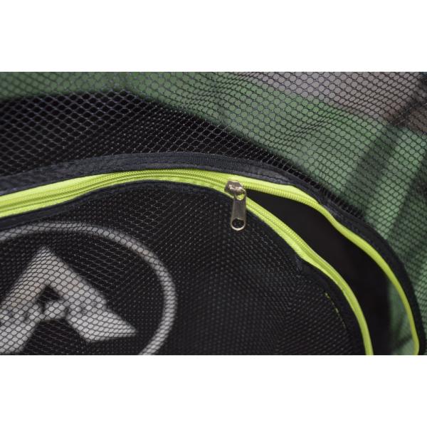 Батут Atleto 140 см с сеткой зеленый New (21000405)
