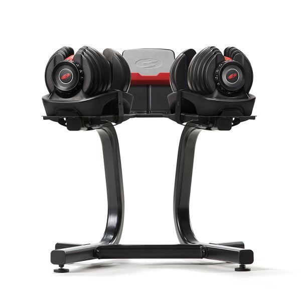 Наборные гантели Bowflex SelectTech 552i + стойка