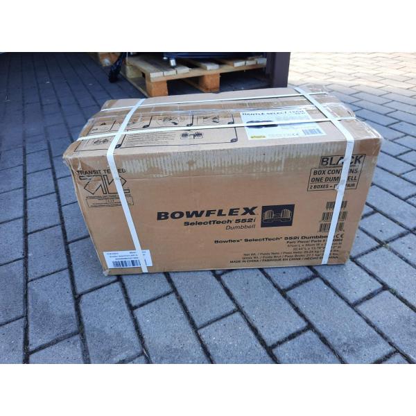 Гантели наборные Bowflex SelectTech 552i 2-24 кг 2 шт