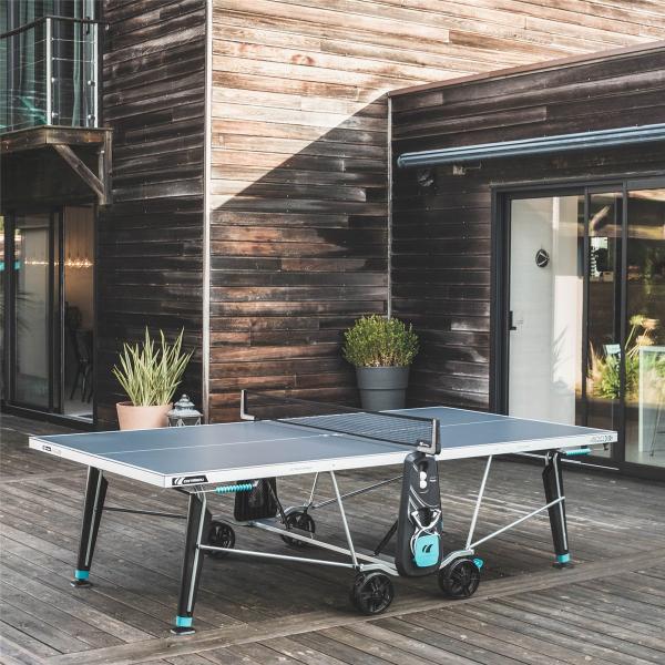 Всепогодный теннисный стол Cornilleau 400X DELTA синий