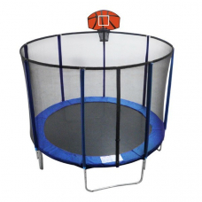 Батут c баскетбольным щитом EnergyFIT GB10103-8FT