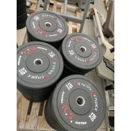 Бамперный диск для кроссфита Fitness Service 5 кг