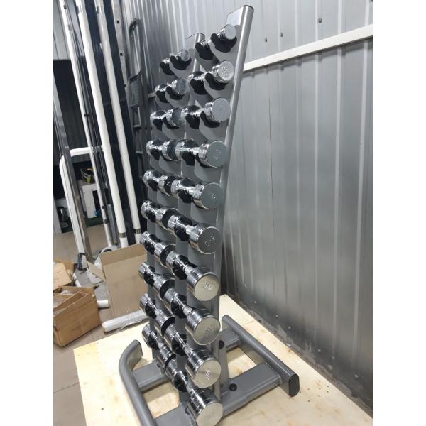 Ёлочка-Гантельный ряд + стойка от 1 до 10 кг Fitnessport D-06/2