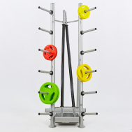 Подставка (стойка) для штанг фитнес памп Fitnessport DR-18