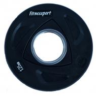 Диск для штанги Fitnessport RCP-20-1,25 кг