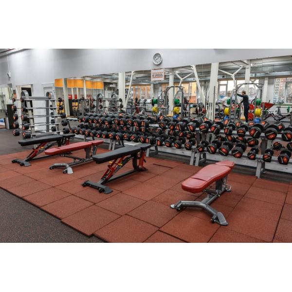 Профессиональный гантельный ряд Fitnessport FDS-10 2.5/30kg