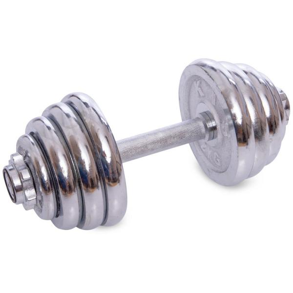 Гантели разборные Fitnessport GC-25 25 кг хромированные
