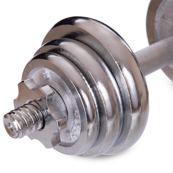 Гантели разборные Fitnessport GC2-15 15 кг хромированные