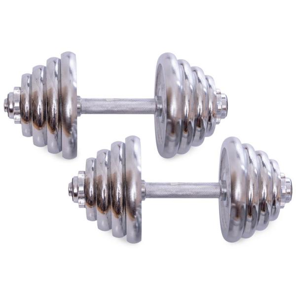 Гантели разборные Fitnessport GC2-30 30 кг хромированные