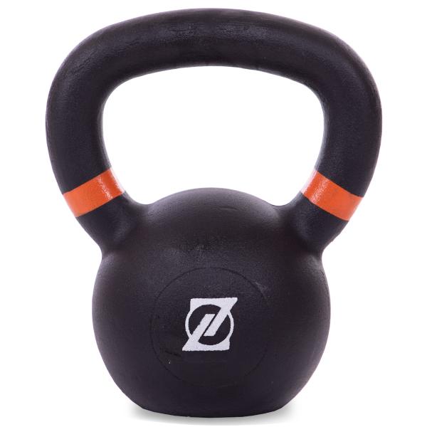 Гиря чугунная окрашенная 10 кг Fitnessport GR-01-10kg