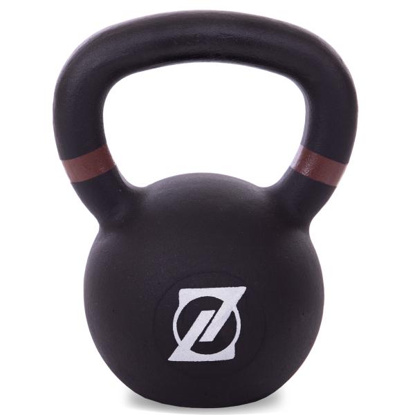 Гиря чугунная окрашенная 14 кг Fitnessport GR-01-14kg