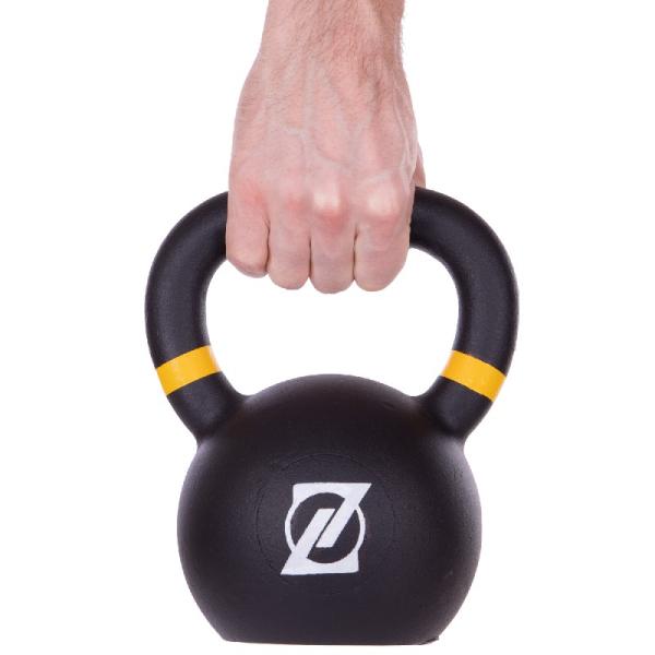 Гиря чугунная окрашенная 16 кг Fitnessport GR-01-16kg