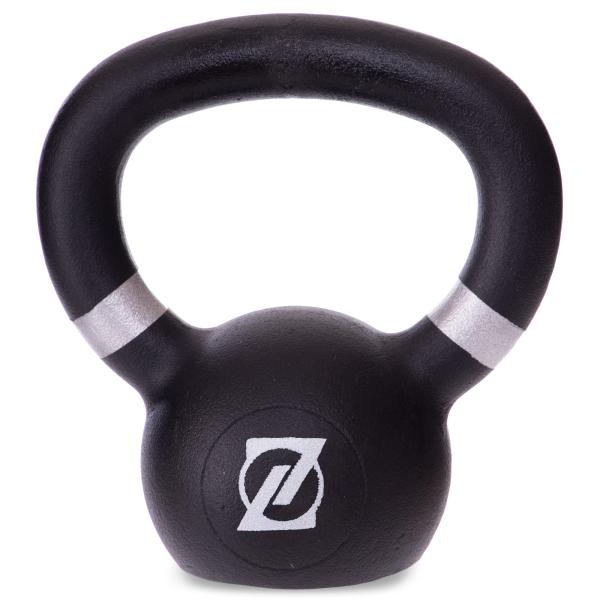 Гиря чугунная окрашенная 4 кг Fitnessport GR-01-4kg