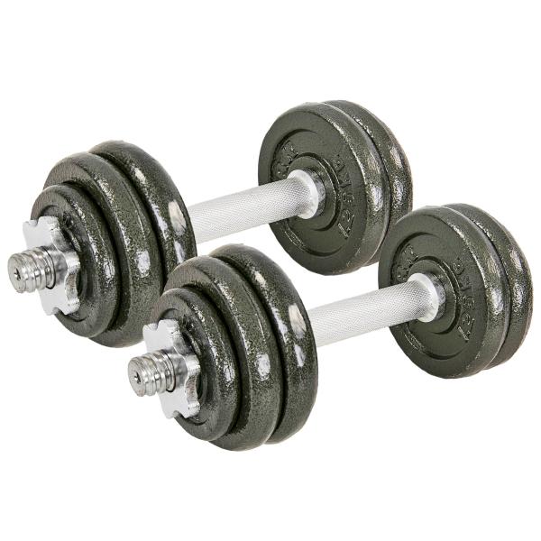 Гантели разборные Fitnessport GS-15 15 кг стальные