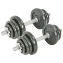 Гантели разборные стальные 25 кг Fitnessport GS-25 2 шт по 12.5 кг