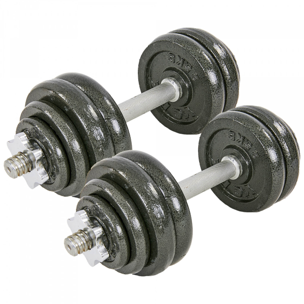 Гантели разборные Fitnessport GS-30 30 кг стальные