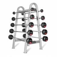 Набор прямых штанг с фиксированным весом 10-55 кг Fitnessport FDS-22/1