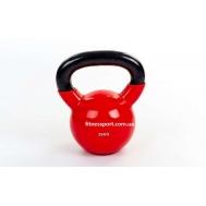 Гиря виниловая 20 кг Fitnessport