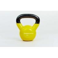 Гиря виниловая 8 кг Fitnessport