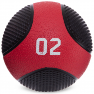Мяч медицинский медбол Fitnessport MB-02 2 кг