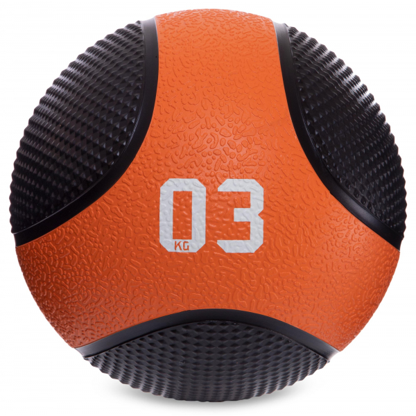 Мяч медицинский медбол Fitnessport MB-03 3 кг