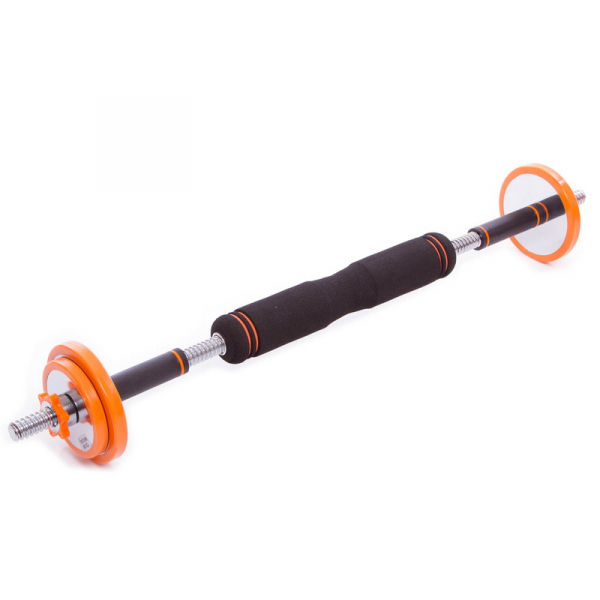 Набор гантелей разборных Fitnessport NGS-15 15 кг стальные