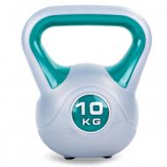 Гиря пластиковая 10 кг Fitnessport PR-01-10kg