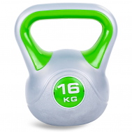 Гиря пластиковая 16 кг Fitnessport PR-01-16kg