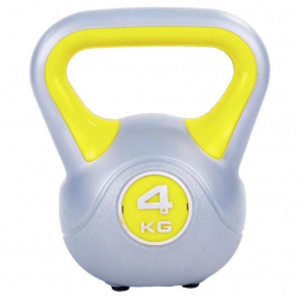 Гиря пластиковая 4 кг Fitnessport PR-01-4kg