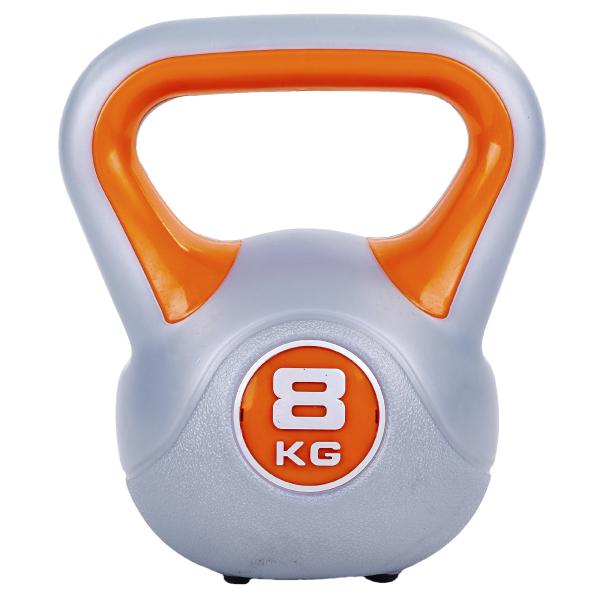 Гиря пластиковая 8 кг Fitnessport PR-01-8kg
