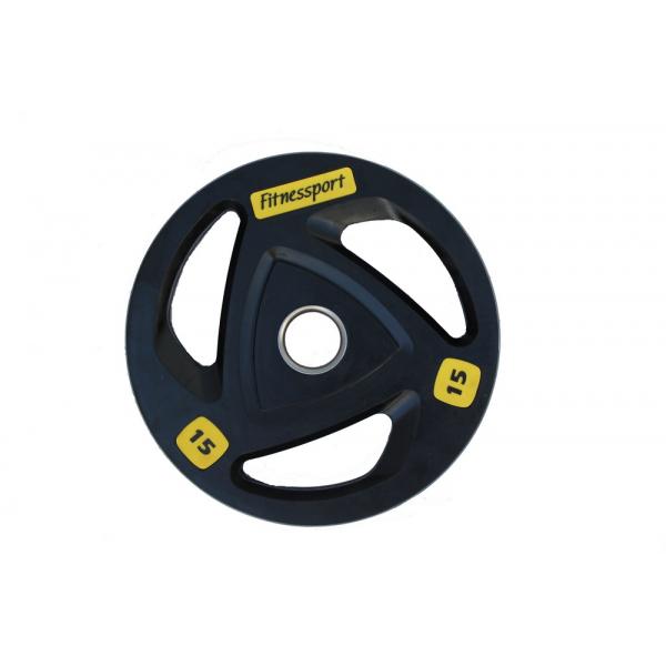 Набор дисков для штанги Fitnessport RCP17 125 кг
