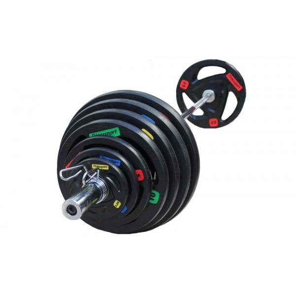 Набор дисков для штанги Fitnessport RCP17 150 кг