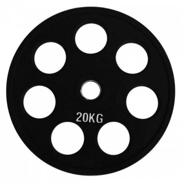 Набор дисков для штанги Fitnessport RCP18 150 кг