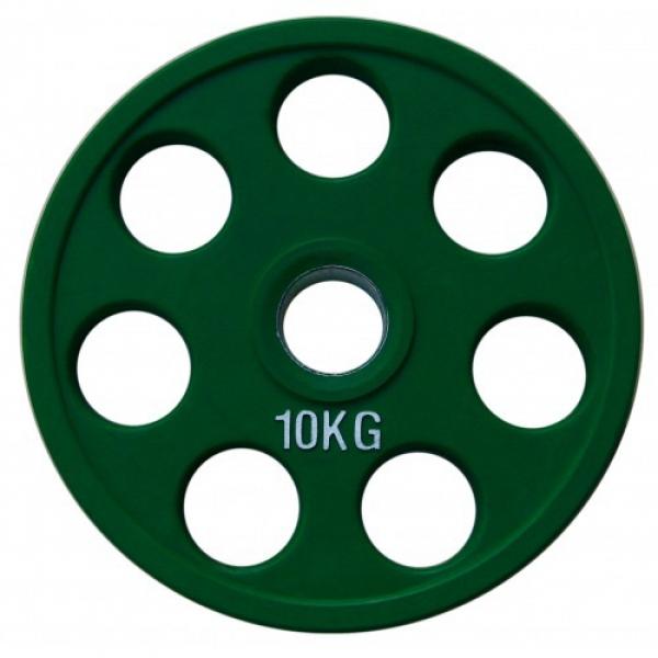Набор дисков для штанги Fitnessport RCP19 125 кг