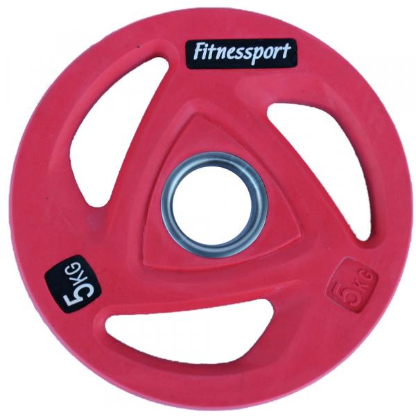 Набор дисков для штанги Fitnessport RCP20 107,5 кг