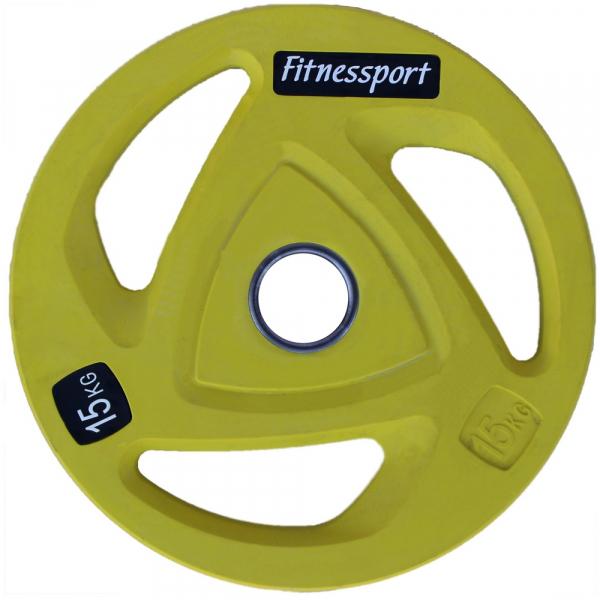 Набор дисков для штанги Fitnessport RCP20 105 кг