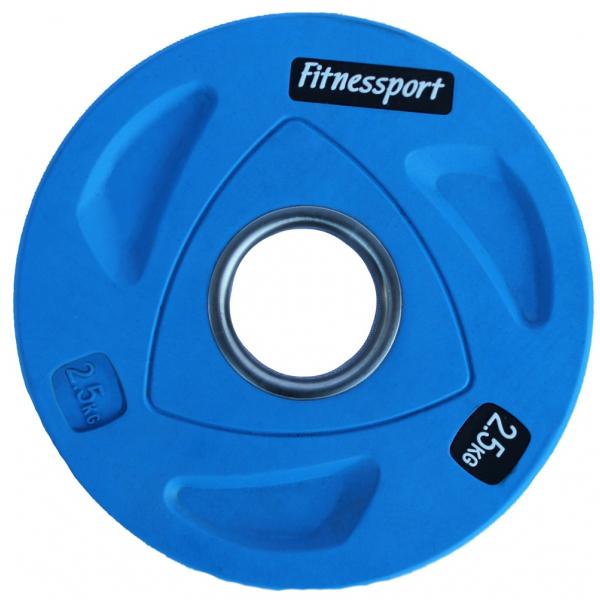 Набор дисков для штанги Fitnessport RCP20 125 кг