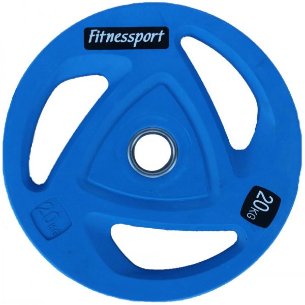 Набор дисков для штанги Fitnessport RCP20 100 кг