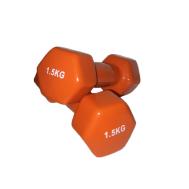 Гантель аэробная виниловая 1,5 кг Fitnessport VDD-01-1,5к