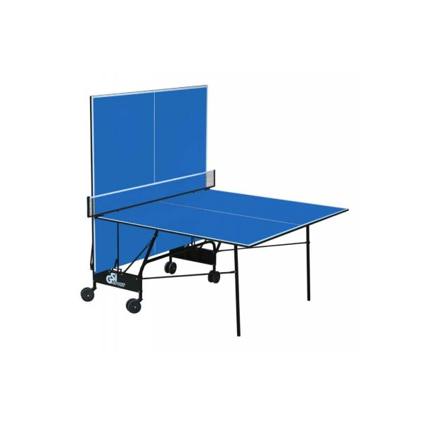 Теннисный стол складной GSI-Sport Compact Light Blue Gk-4