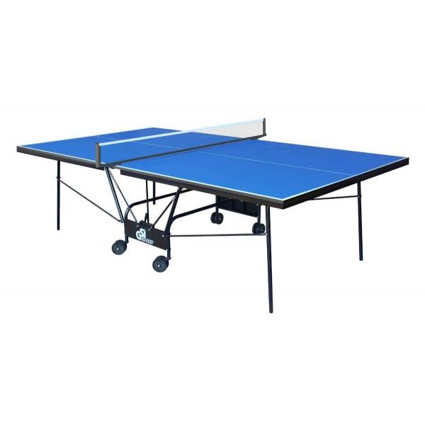 Теннисный стол складной GSI-Sport Compact Strong Blue Gk-5
