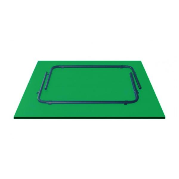 Теннисный стол GSI-Sport Hobby Light Green Gp-1