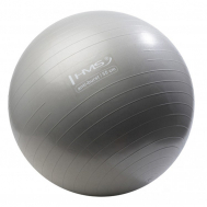 Мяч для фитнеса (фитбол) HMS YB02 55 см Anti-Burst Silver