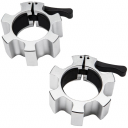Замки для грифа быстросъемные Hammer Olympic Lock Jaw Collars (алюминиевые) (4703)