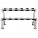 Стойка для 6 пар профессиональных гантелей Hammer Dumbbell Rack (4757)