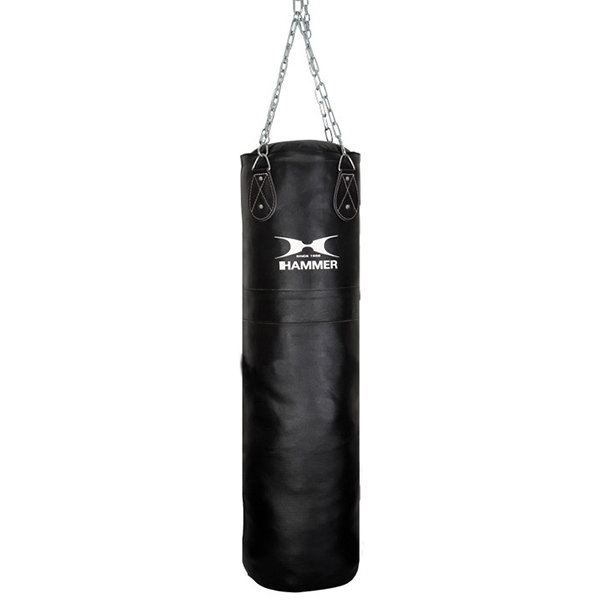 Боксерский мешок Hammer Premium Leather (100x35 см) (92910)