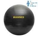 Фитбол (мяч для фитнеса) Hammer Gymnastics Ball 75 cm Anti-Burst System (антиразрыв) (66408)
